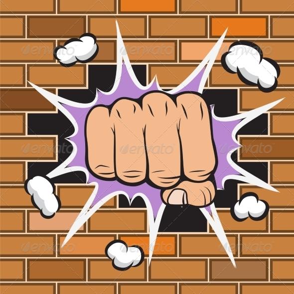 Fist - Decorative Symbols Decorative