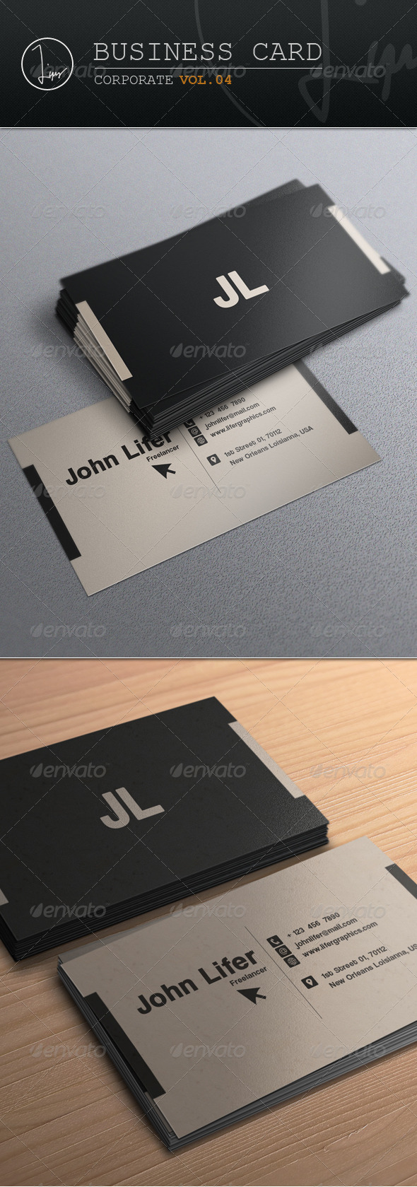 Business Card / Corporate Vol.04 - Corporate Business Cards