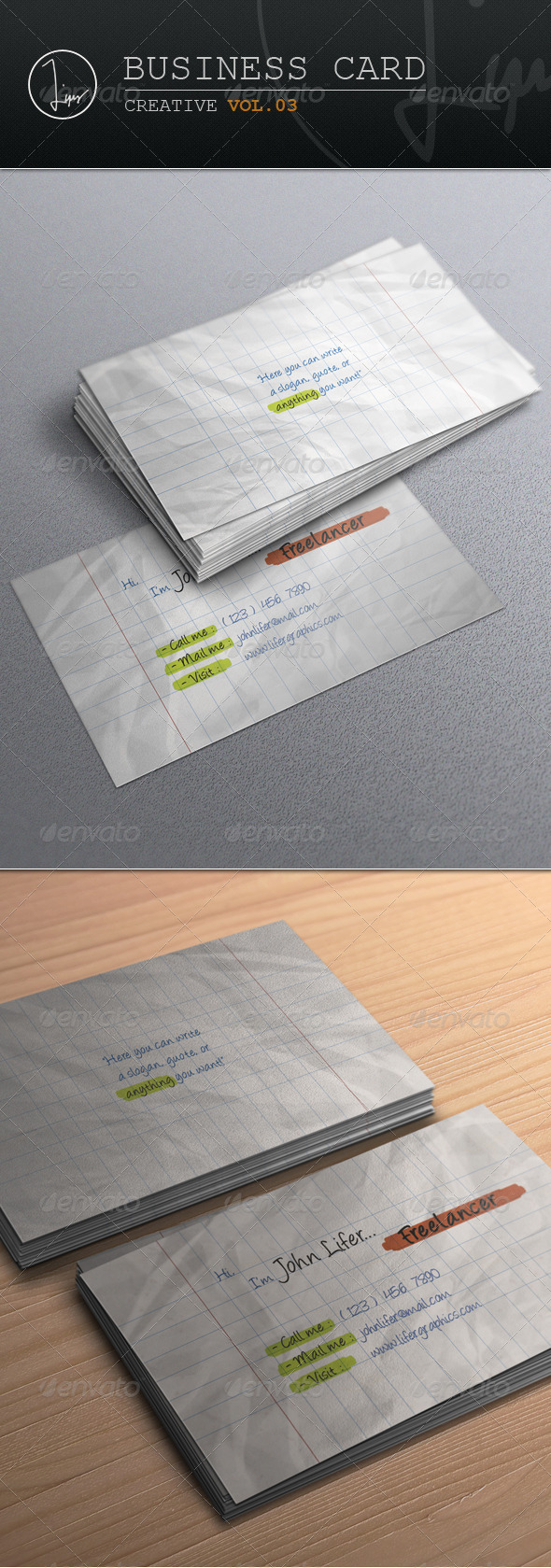 Business Card / Creative Vol.03 - Creative Business Cards