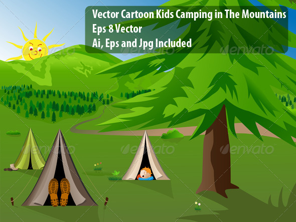 Camping - Miscellaneous Vectors