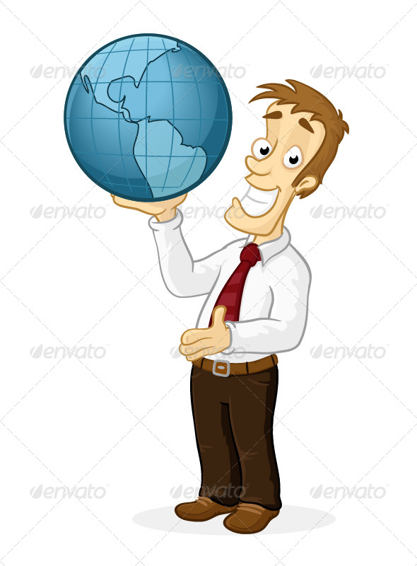 World in Hands - People Characters
