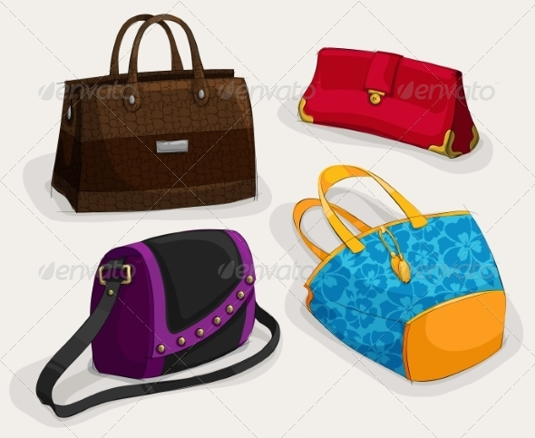 Fashion Woman's Bags Collection - Retail Commercial / Shopping