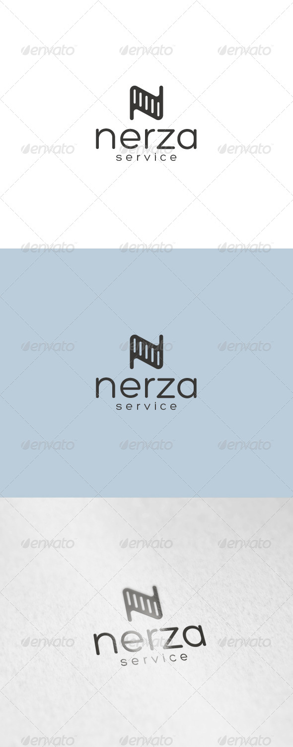 Nerza Logo - Letters Logo Templates