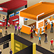 The Scene at an Exhibition Booths - GraphicRiver Item for Sale