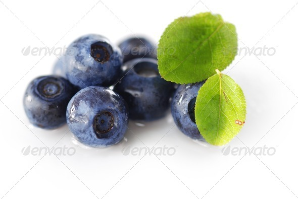 Blueberries - Stock Photo - Images