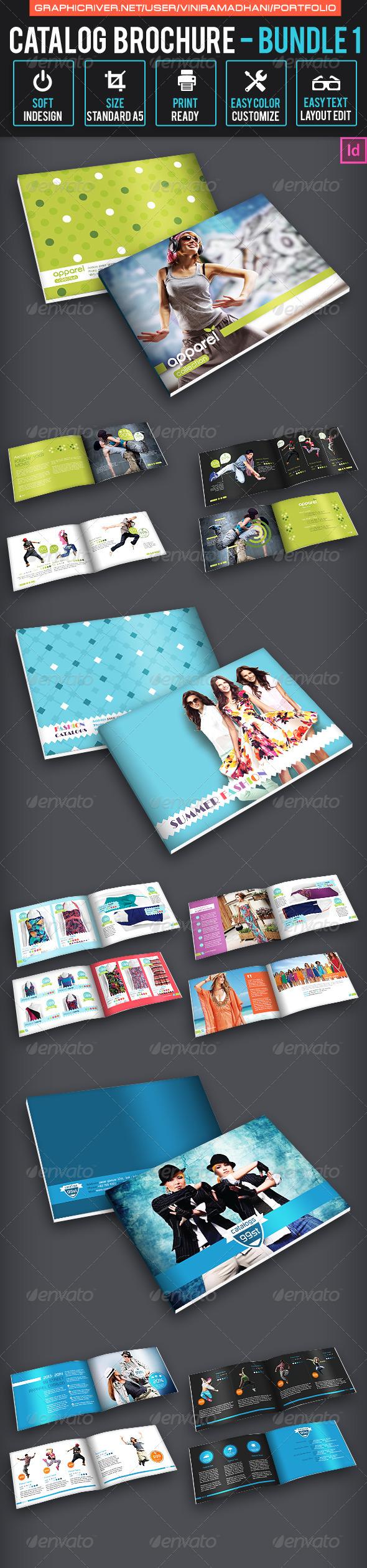 Catalog Brochure Bundle 1 - Catalogs Brochures