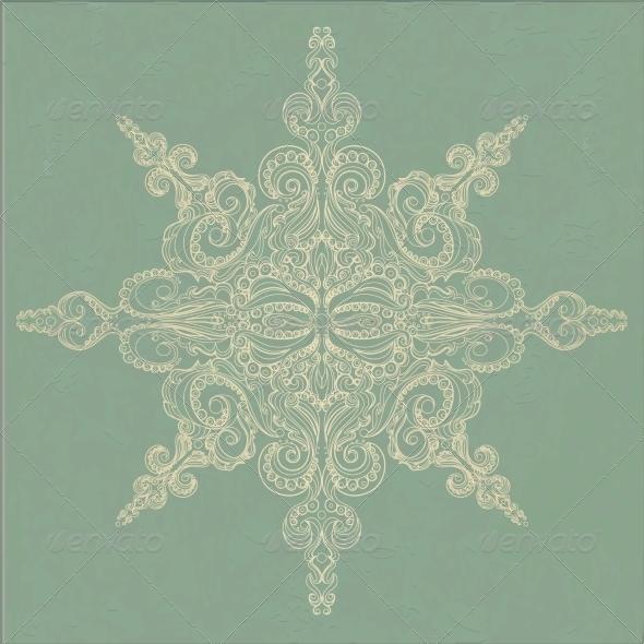 Vintage Ornamental Pattern - Patterns Decorative