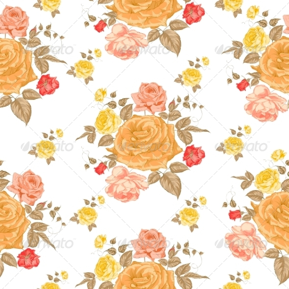 Floral Pattern - Flourishes / Swirls Decorative