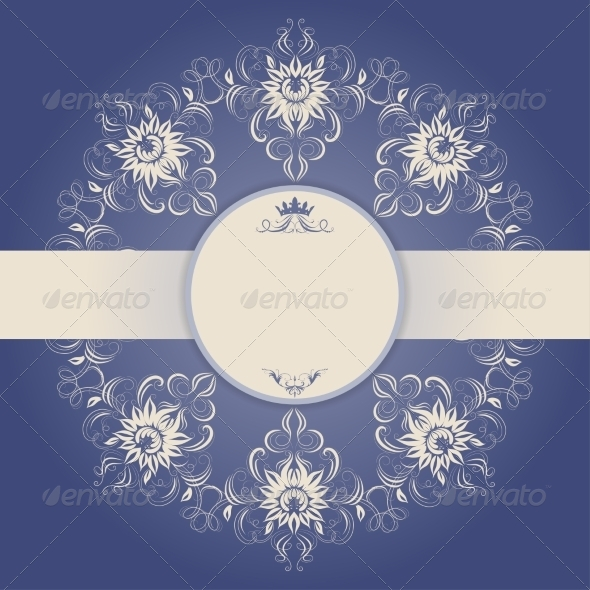 Ornament Card - Backgrounds Decorative