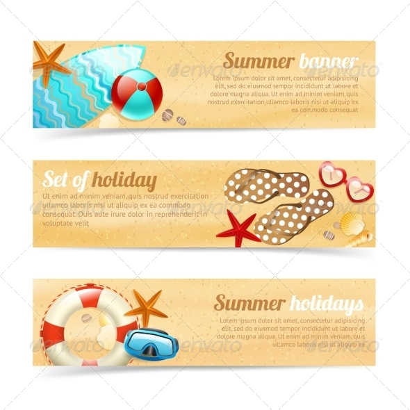 Holiday Banners - Travel Conceptual