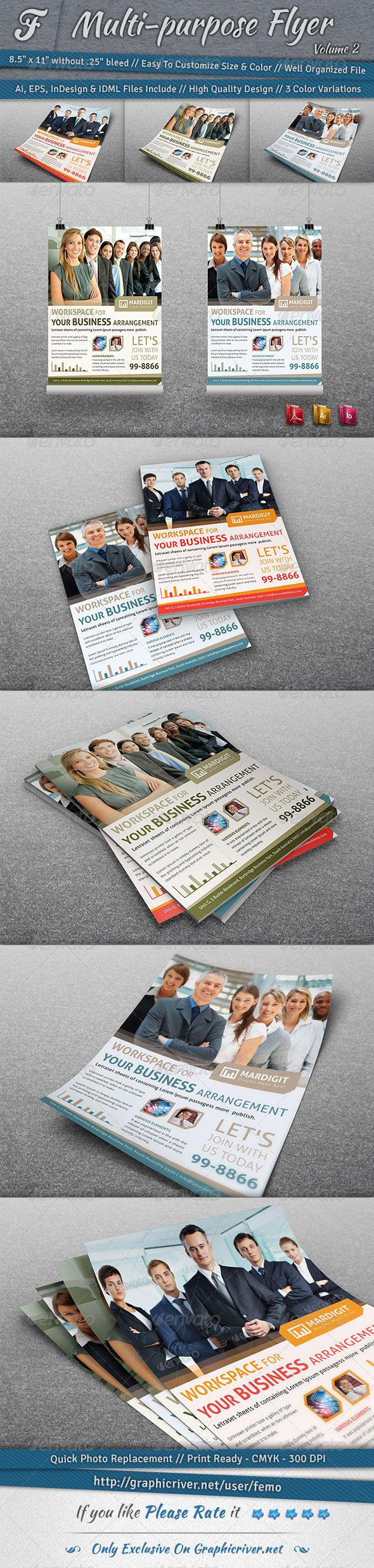 Multi-purpose Flyer | Volume 2 - Corporate Flyers