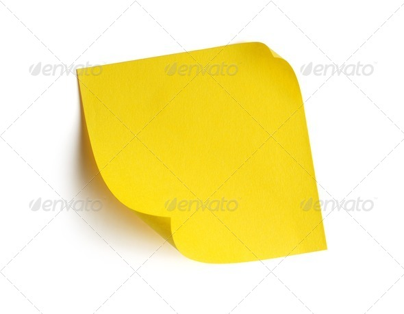 Post-it - Stock Photo - Images