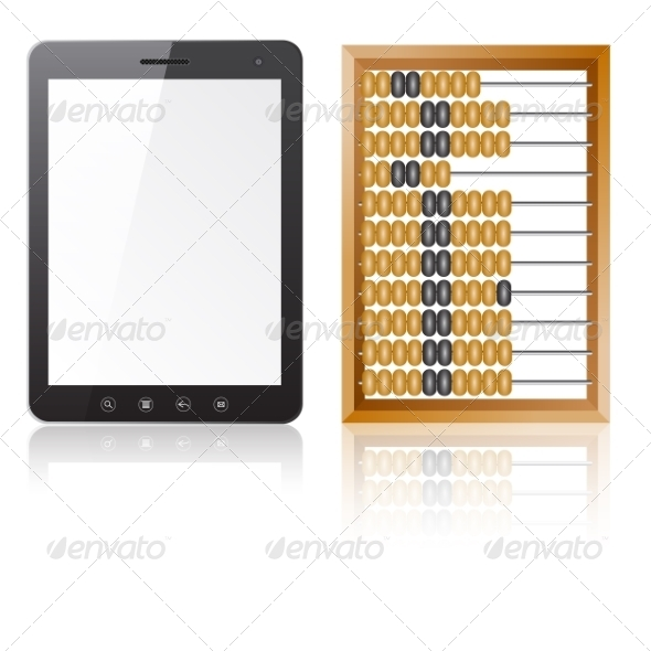 Tablet and Abacus - Computers Technology