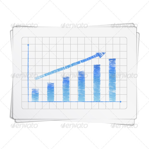Hand Drawn Bar Graph - Concepts Business
