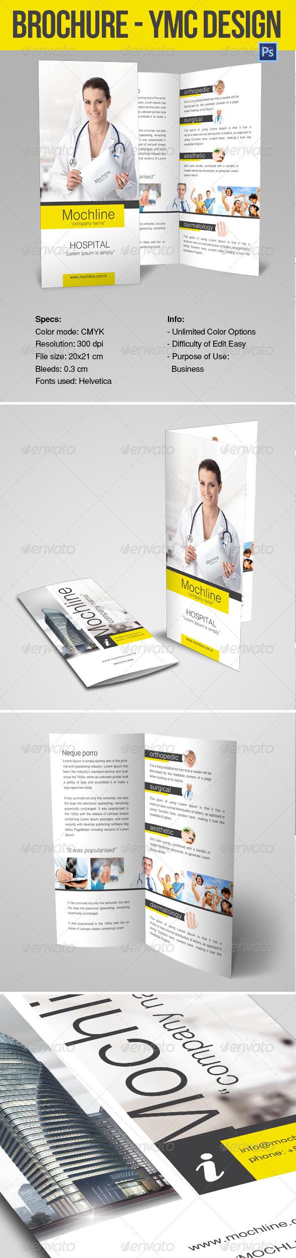 Brochure Health ymc Design - Print Templates