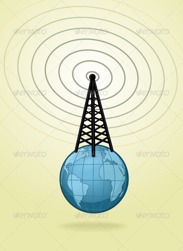 Global Broadcasting - Objects Vectors