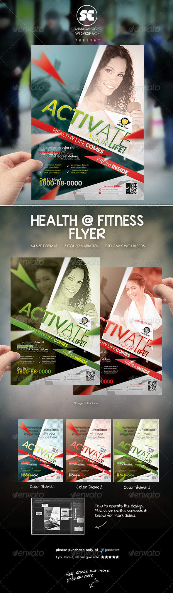 Sports & Fitness Flyer/Magazine Ads - Sports Events