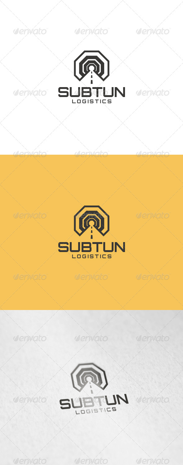 Subtun Logo - Objects Logo Templates