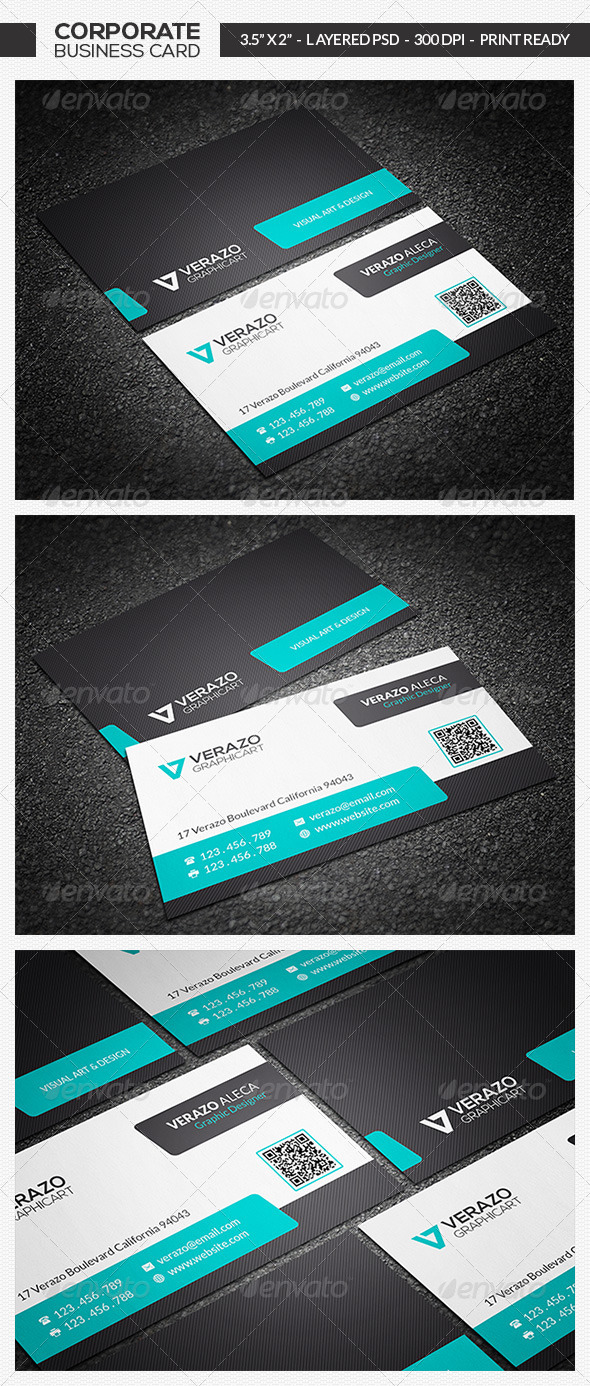Modern Business Card 04 - Corporate Business Cards