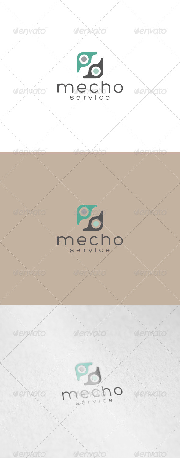 Mecho Logo - Abstract Logo Templates