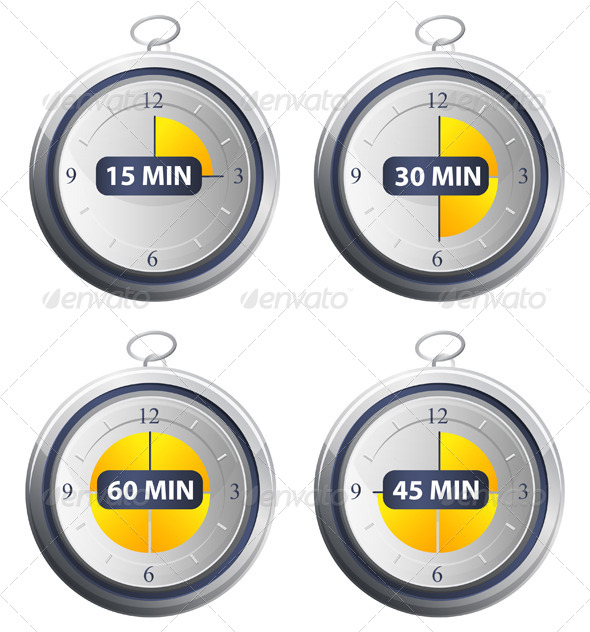 Timer Icons - Concepts Business