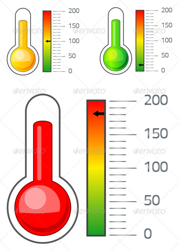 Thermometer Icon - Technology Conceptual