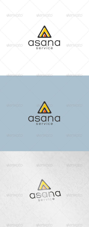 Asana Logo - Letters Logo Templates
