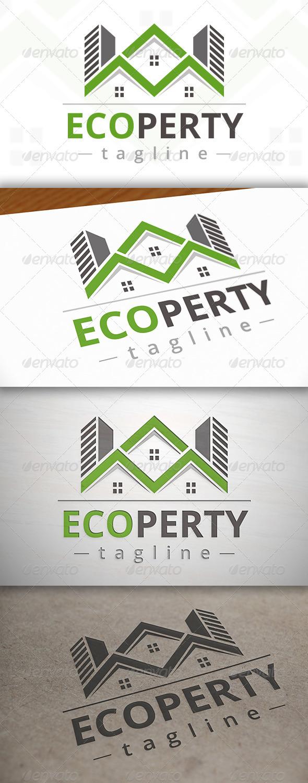 Eco Property Logo - Buildings Logo Templates