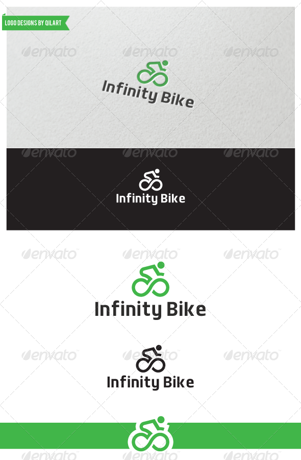 Infinity Bike - Abstract Logo Templates