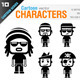 Cartoon Characters - GraphicRiver Item for Sale