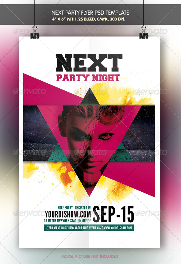 Next Party | Flyer Template - Clubs & Parties Events