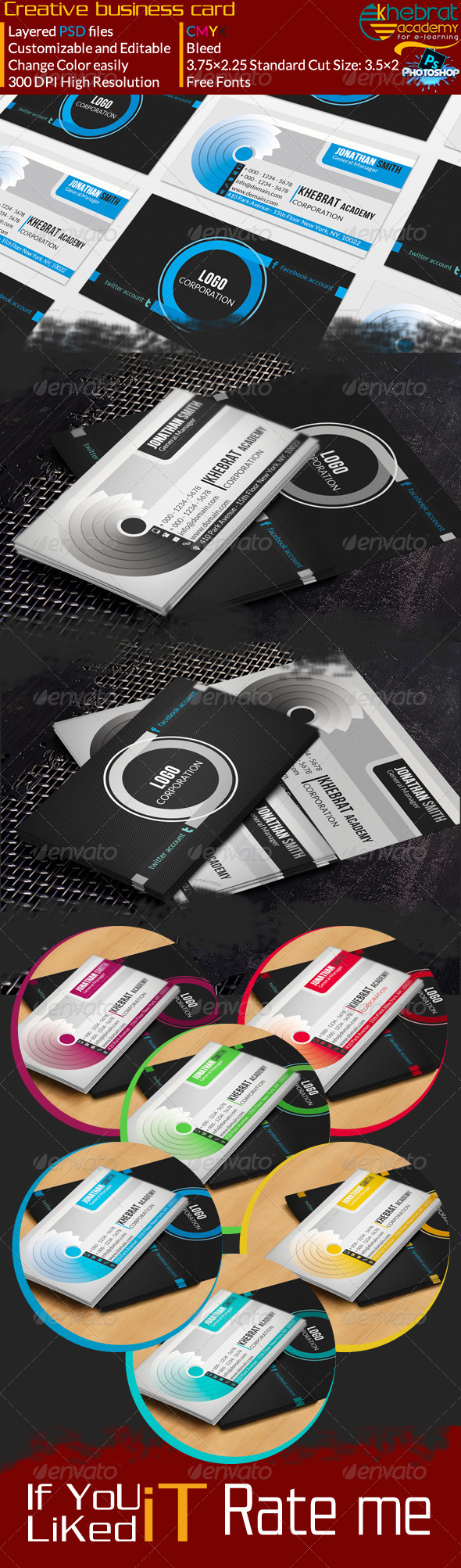 Creative Business Card V01 - Creative Business Cards