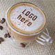 Coffee With Cocoa Logo Mockup - GraphicRiver Item for Sale