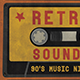 Retro Sounds Flyer - GraphicRiver Item for Sale