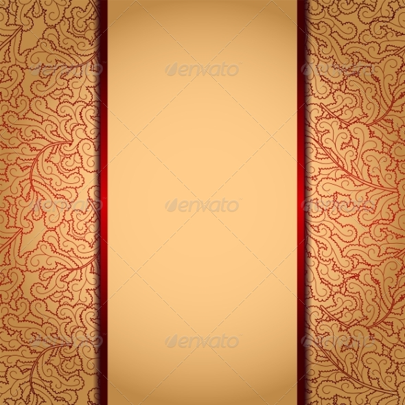 Gold Background - Patterns Decorative