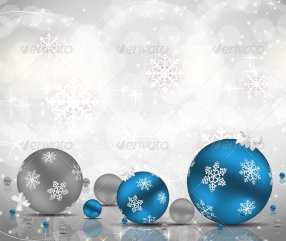 Abstract Christmas and New Year Background - Christmas Seasons/Holidays