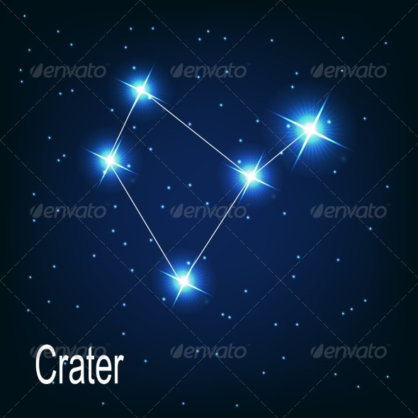 The Constellation Crater - Decorative Symbols Decorative
