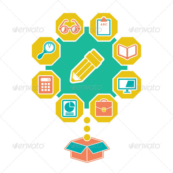Flat Concept of Education and Infobusiness - Concepts Business