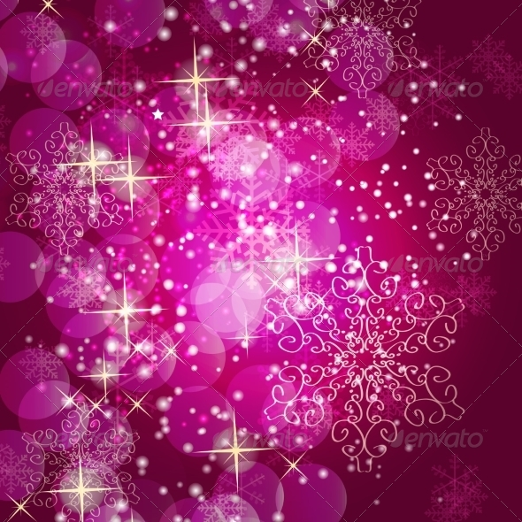 Abstract Christmas and New Year Background - Christmas Seasons/Holidays