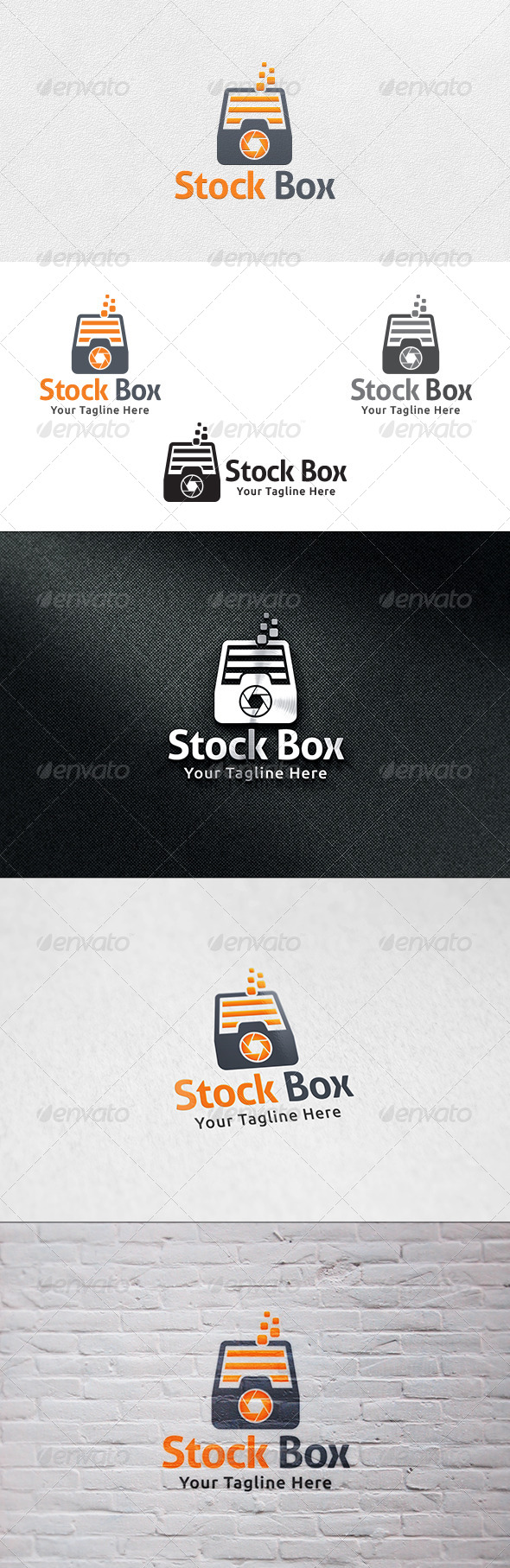 Stock Box - Logo Template - Objects Logo Templates