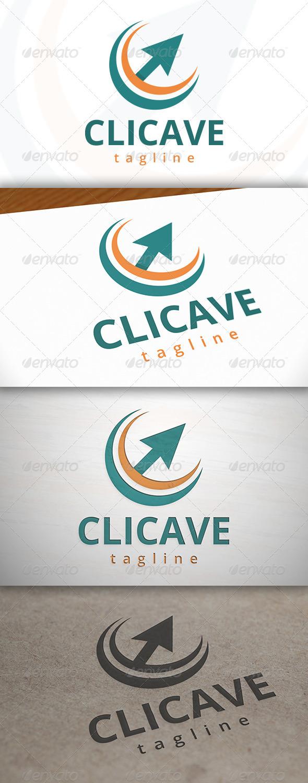 Click Wave Logo - Symbols Logo Templates