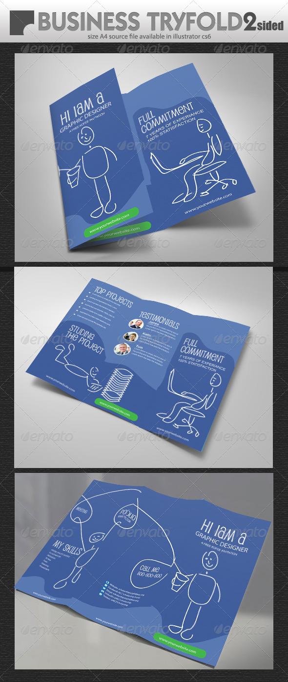 Graphic Designer Brochure  - Brochures Print Templates