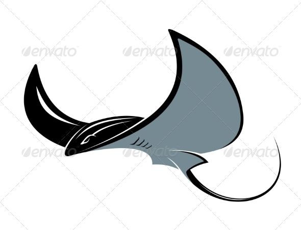 Manta Ray - Animals Characters