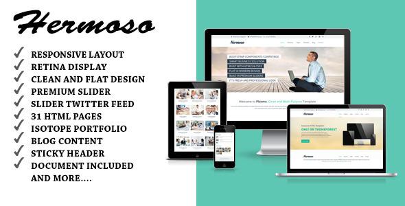 Hermoso – Multipurpose Responsive Joomla Template