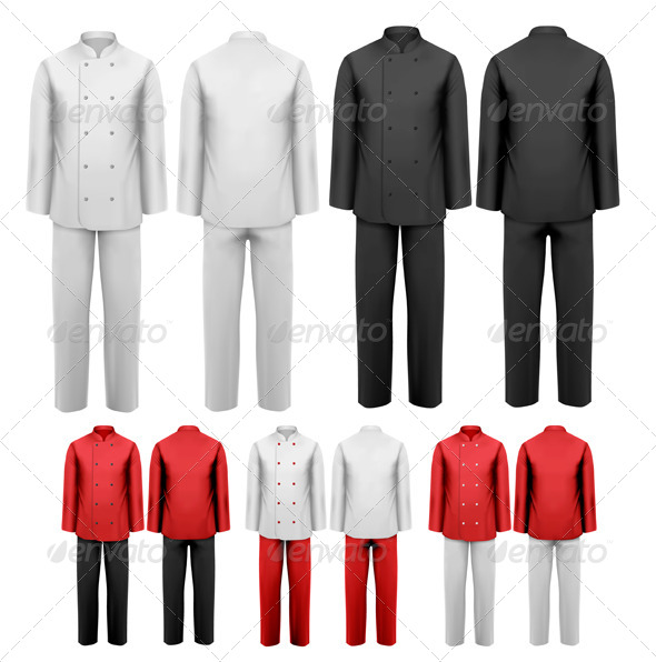 Set of Various Work Clothes - Commercial / Shopping Conceptual