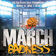 March Badness College Basketball Flyer - GraphicRiver Item for Sale