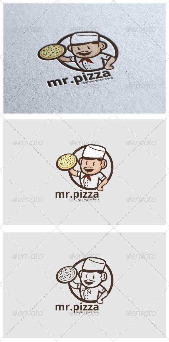 Pizza Logo - Humans Logo Templates
