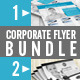 Corporate Flyer Bundle (2 in 1) - GraphicRiver Item for Sale