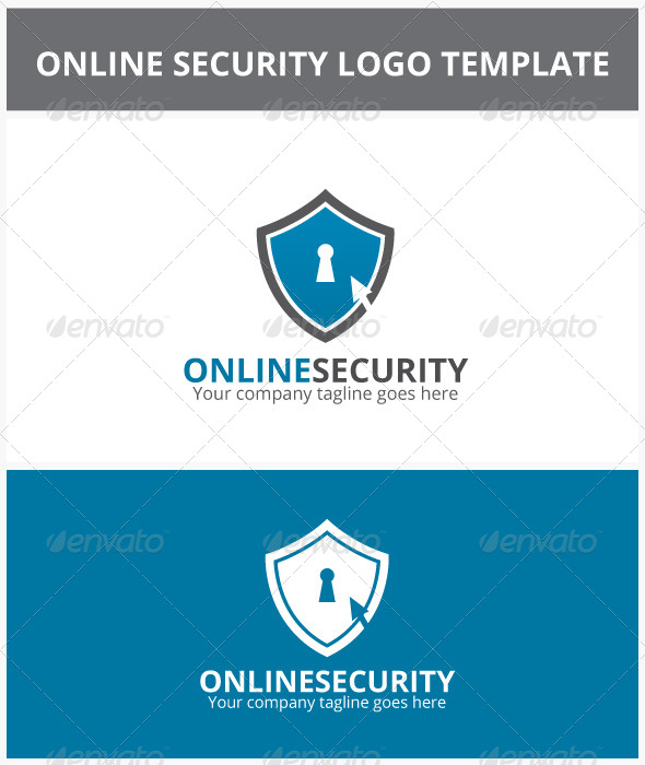 Online Security Logo - Objects Logo Templates