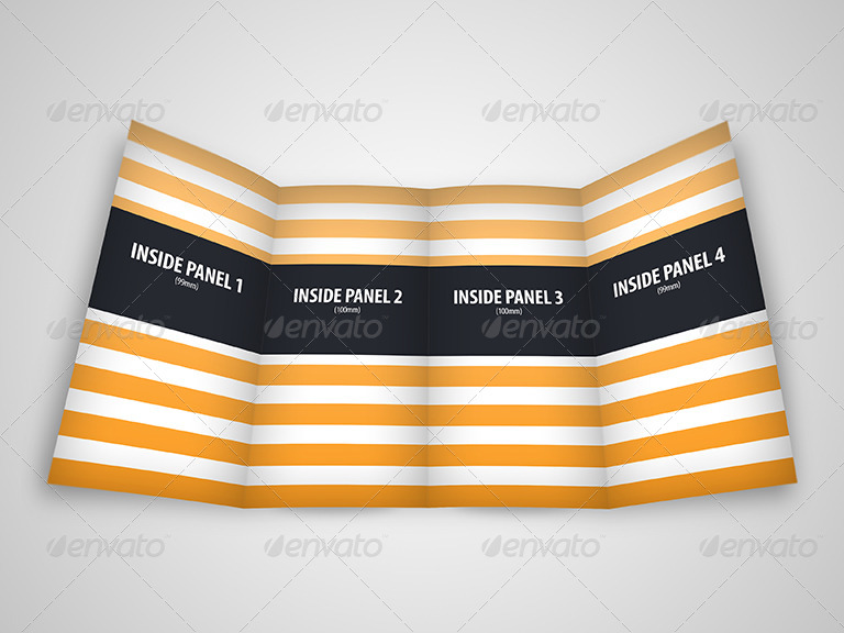 Gate Fold Brochure Mock Up Pack   Brochures Print · 01_preview1  02_preview2 03_preview3 ...